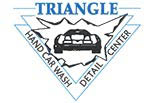 TRIANGLE CARWASH logo