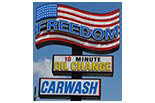Freedom Carwash logo