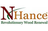 NHANCE REVOLUTIONARY WOOD RENEWAL logo