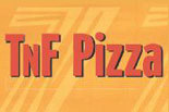 T & F PIZZA logo