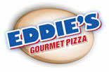 EDDIES GOURMET PIZZA logo