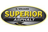 D WILLIAMS SUPERIOR ASPHALT logo