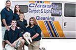 CLASSIC CARPET & UPHOLSTERY CLEANING logo