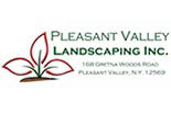 PLEASANT VALLEY LANDSCAPING logo