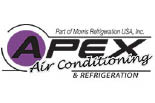 APEX AIR CONDITIONING logo