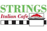STRINGS ITALIAN CAFE #4 logo