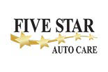 FIVE STAR AUTO CARE - ROCKLIN logo