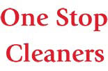 ONE STOP CLEANERS logo