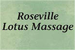 ROSEVILLE LOTUS MASSAGE logo