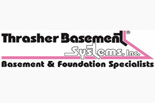 Thrasher Basement Concrete logo
