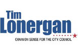 TIM LONERGAN FOR CITY COUNCIL logo