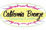 CALIFORNIA BRONZE TANNING CENTER logo