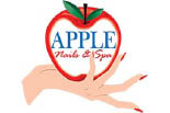 APPLE NAILS & SPA logo