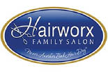 HAIRWORX FAMILY SALON logo