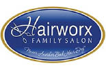 HAIRWORX FAMILY SALON-WEST logo
