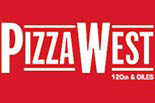 PIZZA WEST logo