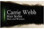 HAIR STYLING  BY CARRIE WEBB logo
