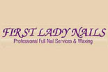 FIRST LADY NAILS logo