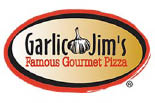 GARLIC JIM'S PIZZA logo