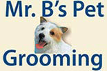 Mr. B's Pet Grooming logo
