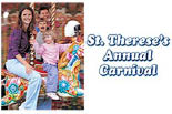 St. Therese's Parish Carnival logo