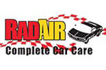 RAD AIR COMPLETE CAR CARE logo