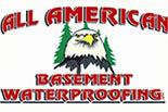 ALL AMERICAN BASEMENT WATERPROOFING logo