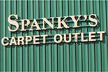 SPANKY'S CARPET OUTLET logo