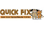 QUICK FIX LOW- COST SPAY/NEUTER CLINIC logo