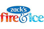 ZACK'S FIRE & ICE logo