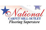 NATIONAL CARPET MILL OUTLET logo