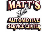 MATTS AUTOMOTIVE SERVICE CENTER logo