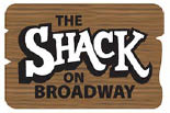 THE SHACK ON BROADWAY logo