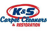 K&S CARPET CLEANERS logo