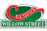 CARUSO'S WILLOW STREET logo