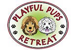 PLAYFUL PUPS RETREAT logo