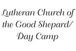 LUTHERAN CHURCH OF THE GOOD SHEPHARD GREENFIELD DAY CAMP logo