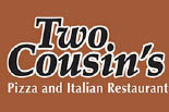 TWO COUSINS PIZZA & TALIAN RESTAURANT/LEOLA logo
