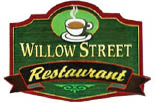 WILLOW STREET RESTAURANT logo