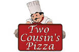 TWO COUSINS PIZZA/MANHEIM logo