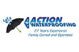 AA ACTION WATERPROOFING logo