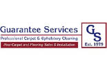 GUARANTEE SERVICES CARPET CLEANING logo