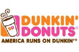 DUNKIN DONUTS/READING logo