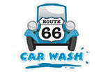 ROUTE 66 CAR WASH logo