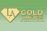 LA GOLD & DIAMONDS logo