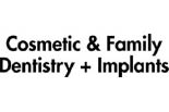 COSMETIC & FAMILY DENTISTRY logo