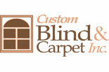 CUSTOM BLIND & CARPET logo
