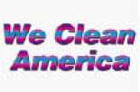 WE CLEAN AMERICA logo
