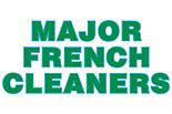 MAJOR FRENCH CLEANERS logo