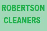 ROBERTSON CLEANERS logo